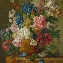 220px Paulus Theodorus Van Brussel Flowers In A Vase 15119988939 2837479 220x220